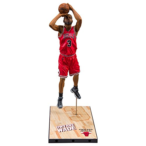 McFarlane NBA Series 30 DWYANE WADE #3 - Chicago Bulls Sports Picks Figure