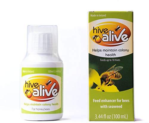 HIVE VIVE 100 ml – simplemente añadir al jarabe para más abejas, más miel, mejor supervivencia durante el invierno, mejora el bienestar intestinal.