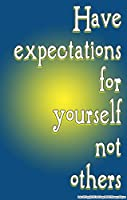 Youth Change Inspirational Counselling and Classroom Management Poster About Expectations (Poster 479)