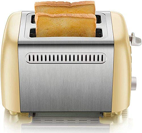 Tostadora de acero inoxidable ribete tostada Spit Driver Breakfast Machine 6 archivos