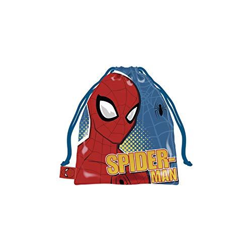 ARDITEX SM13366 Bolsa Merienda 26.5X21.5cm de Marvel-Spiderman