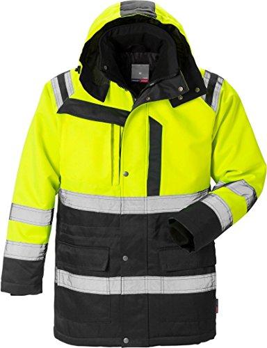 Fristads Kansas Workwear 119629 Arbeitskleidung, hochsichtbar, Gelb/Schwarz, Größe XXL