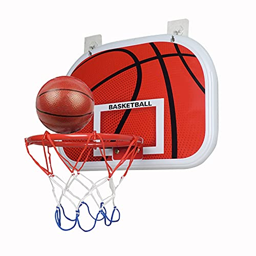 Canasta para Baloncesto Hoop De Baloncesto Colgante Sin Golpe, Mini Tablero De Baloncesto Infantil, Interesantes Juguetes Interiores Y Exteriores (Size : 47x33cm)