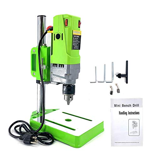 SOFEDY 710W Mini Electric Bench Drill Press Stand Table Drill Press Mini Drilling Machine 6-speed Adjustable Drilling Workbench Repair DIY Tool Drill Chuck 1-13mm for Non-hard Material Drilling