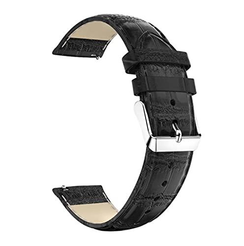 Correa de cuero de 20MM para Xiaomi Huami Amazfit GTS 2E / GTS 2 Mini correa de reloj inteligente PU reemplazar pulsera