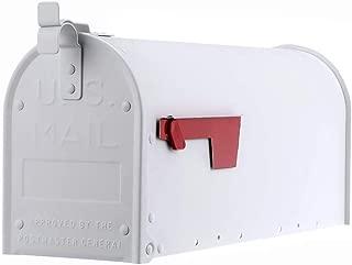 Gibraltar Mailboxes ADM11W01 Admiral Mailbox, Textured White