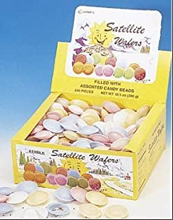 Satellite Wafers Flying Saucers Candy Old Fashioned 240
