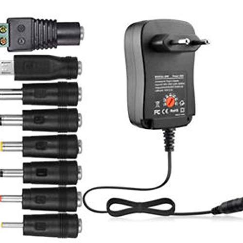 Adaptador Universal de la Fuente de alimentación 30W AC/DC 3V / 4.5V / 6V / 7.5V / 9V / 12V 1.5A Ajustable WEIWEITOE