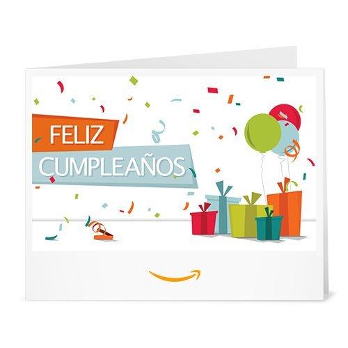 Cheque Regalo de Amazon.es - Imprimir - Confeti