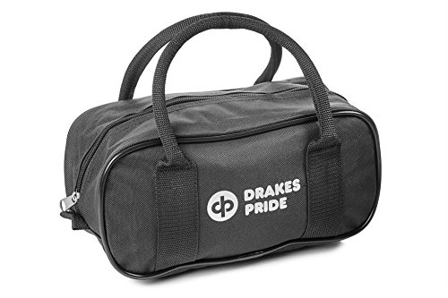 Drakes Pride Bowlingtasche für 2 Kugeln schwarz schwarz