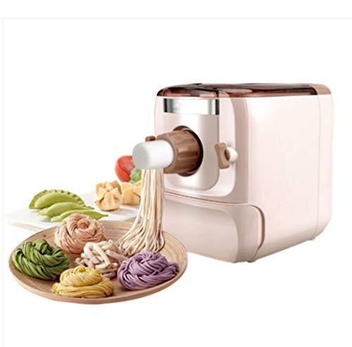 Volautomatische pastamachine Thuis kleine elektrische Bol Skin Dough persmachine Multifunctionele Verticale Noodle Maker Machine,Beige