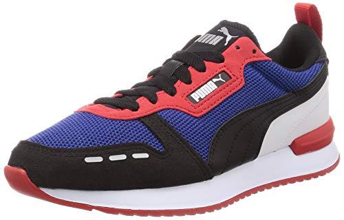 PUMA Herren R78 Sneaker, Lapis Blue Black High Risk Rot, 44 EU