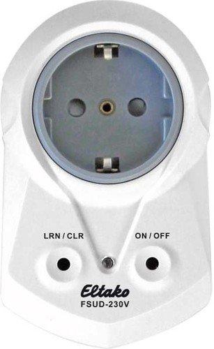 Eltako Funkaktor Steckdosen-Universal-Dimmschalter, 1 Stück, FSUD-230V