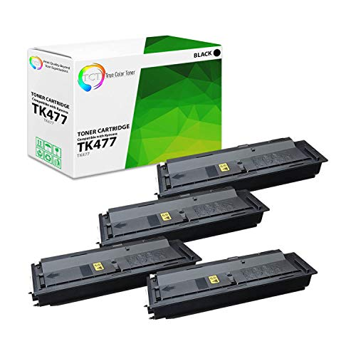TCT Premium Compatible Kyocera-Mita TK592 TK592K TK592C TK592M TK592Y Toner Cartridge Replacement for Kyocera-Mita FS C2026 2126 2526, 5250DN Printers (Black, Cyan, Magenta, Yellow)- 8 Pack