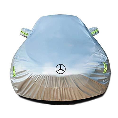 GYPPG Cubierta para automóvil Compatible con Mercedes-Benz EQC SUV/Tout-terrains Ropa para automóvil Cubierta Completa Cubierta para vehículo Protección contra la Lluvia para Exteriores en Inter