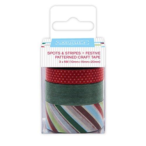 Capsule Spots Stripes Festive-Carta da regalo, motivo: nastro adesivo