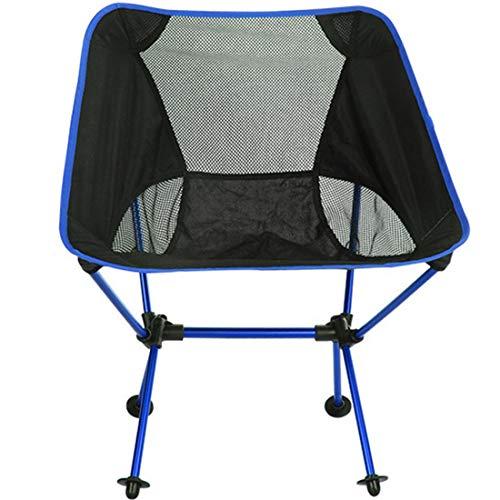 Productos de camping Al aire libre plegable portátil acampar cChair luz pesca...