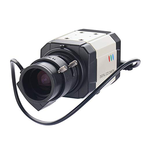 Vanxse CCTV Mini HD 1/3 CCD 960h Auto Iris 1000tvl 2.8-12mm Varifocal Lens Bullet Box Security Camera Surveillance Camera