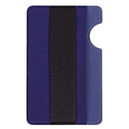 Telefoon Kaarten Houder Zelfklevende Anti- Verloren Credit Card Phone Pouch (Blauw)