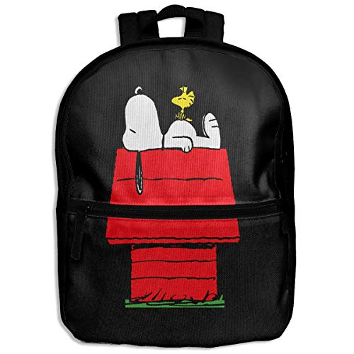 Kids Backpack Snoopy Sleep Above The Red House School Hiking Travel Shoulder Bag Small Daypack For Boys Girls