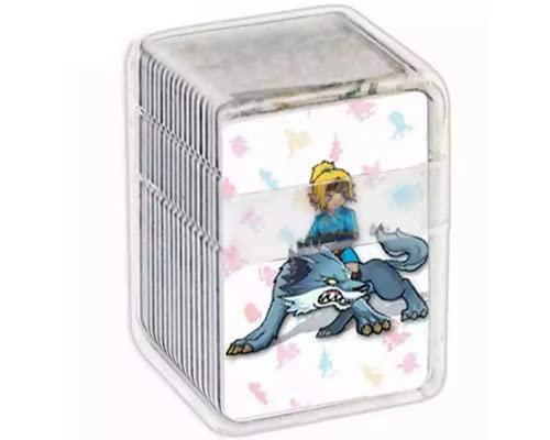 24 Mini Cartes NFC la Legend de Zelda Breath of The Wild Amiibo Compatible Nintendo Switch Lite Wii U et Nouveau systeme 3DS Fonctionne comme Les Amiibo