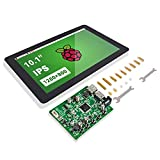Raspberry Pi 10 Inch Touch Screen - SunFounder 10.1' HDMI 1280x800 IPS LCD Touchscreen for RPi 400 4 Model B 3 Model B+ 3B 2B LattePanda Beagle Bone
