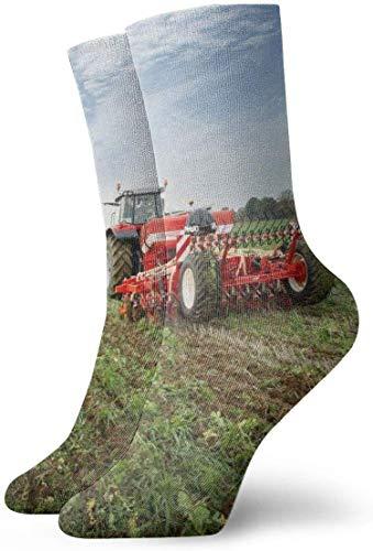 Love girl Breathable Söckchen des Traktors beiläufige gemütliche athletische Mannschafts-Socken für Männer, Frauen, Kinder