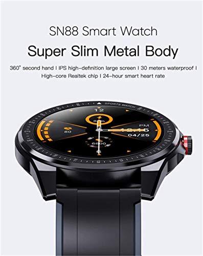 Reloj inteligente para hombre de 1.3 pulgadas Ip68 resistente al agua con monitor de ritmo cardíaco Fitness Tracker para Android iOS fine/B-D