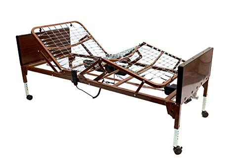 Invacare Value Care, Full Electric Homecare Bed, 5410VC, Brown