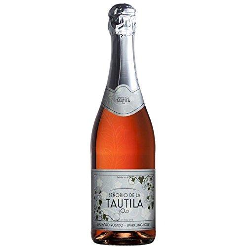 Señorío de la Tautila Espumoso Rosado Non-Alcoholic Sparkling Rose Wine 750ml