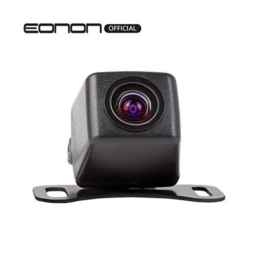 eonon HD hinten Kamera Fahrzeug Kamera Back-up Cam Rückfahrkamera 420.000 Pixel Weitwinkel 170 ° Wasserdicht und Farbe CMD Kamera PAL System A0119