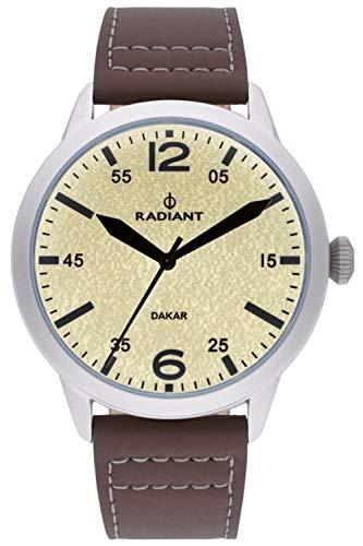 Radiant Harald Herren Uhr analog Quarzwerk mit Leder Armband RA504603