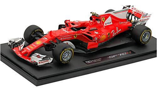 Tamiya 21164 1:20 SF70H #7 Fin. Modelo MW, Color Rojo.