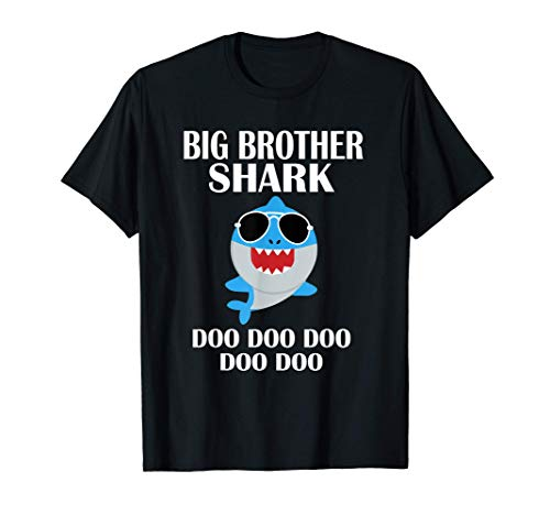 Big Brother Shark Doo Doo Doo Regalo del Grande Fratello Maglietta