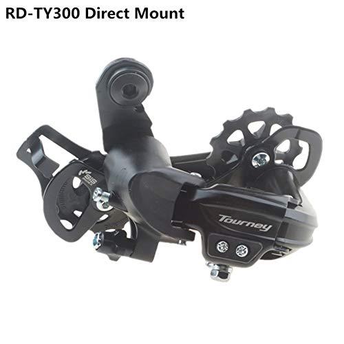 Hohe Qualität Shimano Tourney RD-TY300 Schaltwerk 6/7 Geschwindigkeit MTB Fahrrad Radfahren TY300 Hanger Berg/Direct Mount TX35 Aktualisiert (Color : TY300 Direct Mount)