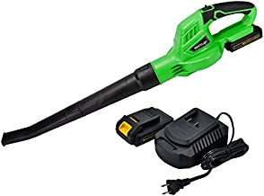 Uniteco 20V B001 Cordless Leaf Blower With 2.0A Battery Fast Charger Leaf Blower Sweeper