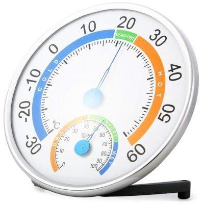 RanDal Anymetre Th101E 2 In 1 Temperatur-Feuchtigkeitsmesser - Weiss