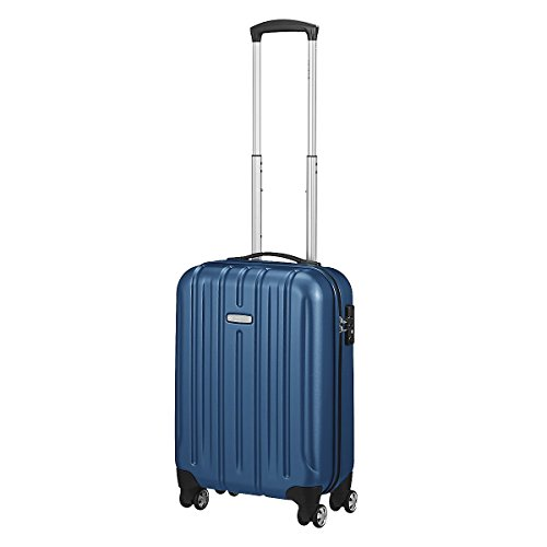 Trolley cabina KINETIC 4 ruote cm 55x35x20 lt.32 kg.2,50 colore notte