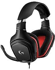 Logitech G332 Gaming Headset Zestaw Słuchawkowy Do Gier, Stereo, Skórzana Poduszka Uszna, Pc/Ps4/Xbox One - Czarny,981-000757