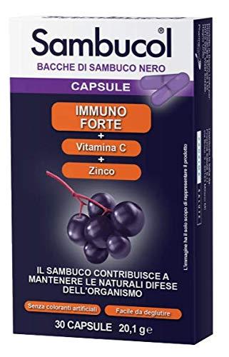 Sambucol Immuno Forte - Cápsulas