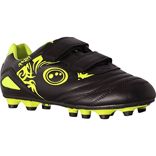 Optimum Jungen Razor Fußballschuhe, Gelb (Black/yellow), 33 EU