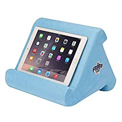 Flippy Multiple-angle triangular foam wedge book and tablet holder pillows for bedtime reading