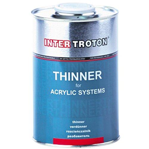 Troton VERDÜNNER 1L ACRYLVERDÜNNER Inter Acryl Thinner für Acrylic Systems
