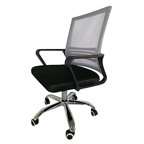Bürostuhl Textil (25 x 53 x 50 cm) - Grau