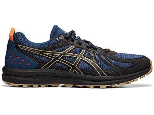 ASICS Men's Frequent Trail Running Shoes, Mako Blue/Black, 11