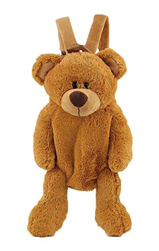 Black Temptation Borsa dell'orso Adorabile del Fumetto della Peluche per la Borsa dei Bambini
