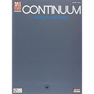 Continuum (Play It Like It Is Guitar): Songbook, Tabulatur: Guitar Recorded Versions
