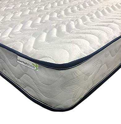 Starlight Beds – Shorty Mattress, Small Single Mattress, Single Mattress. Ideal for Children, Bunk Beds and Cabin Beds.