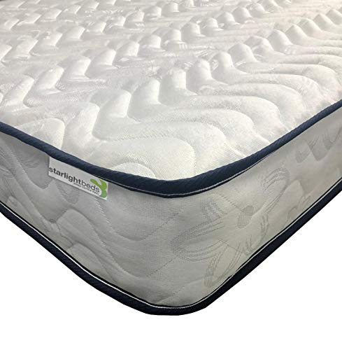 Starlight Beds – Single Mattress. Micro quilted Mattress. Ideal for Children, Bunk Beds & Cabin Beds. (90cm x 190cm) 3ft Single Mattress
