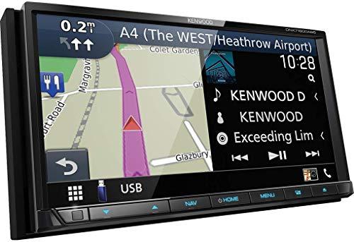 Kenwood DNX7190DABS Navigationsgerät 17,6 cm (6.95 Zoll) Touchscreen TFT starr schwarz 2,5 kg